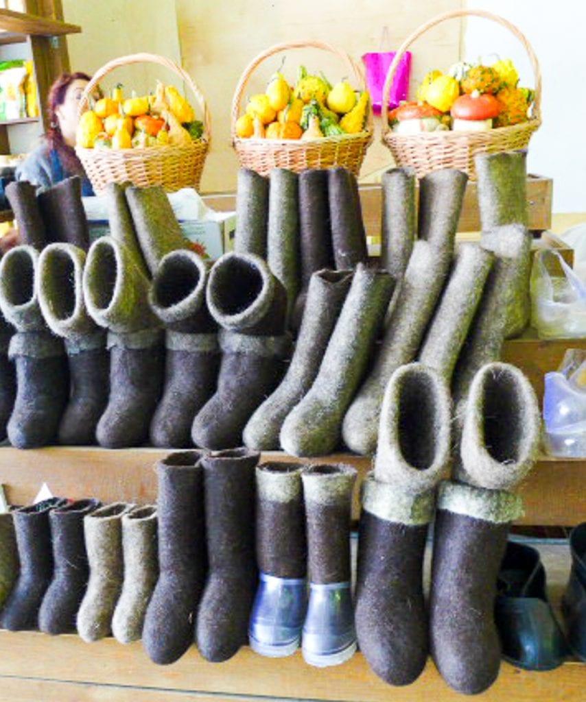 Valenki, Felt boots, Russian Light industry