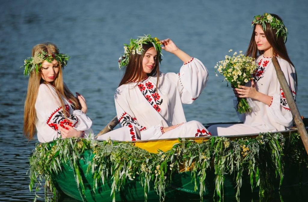 Slavic folklore, slavic traditions, midsummer, Ivan Kupala, summer solstice
