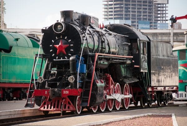 Russian railways, history of Russian rail