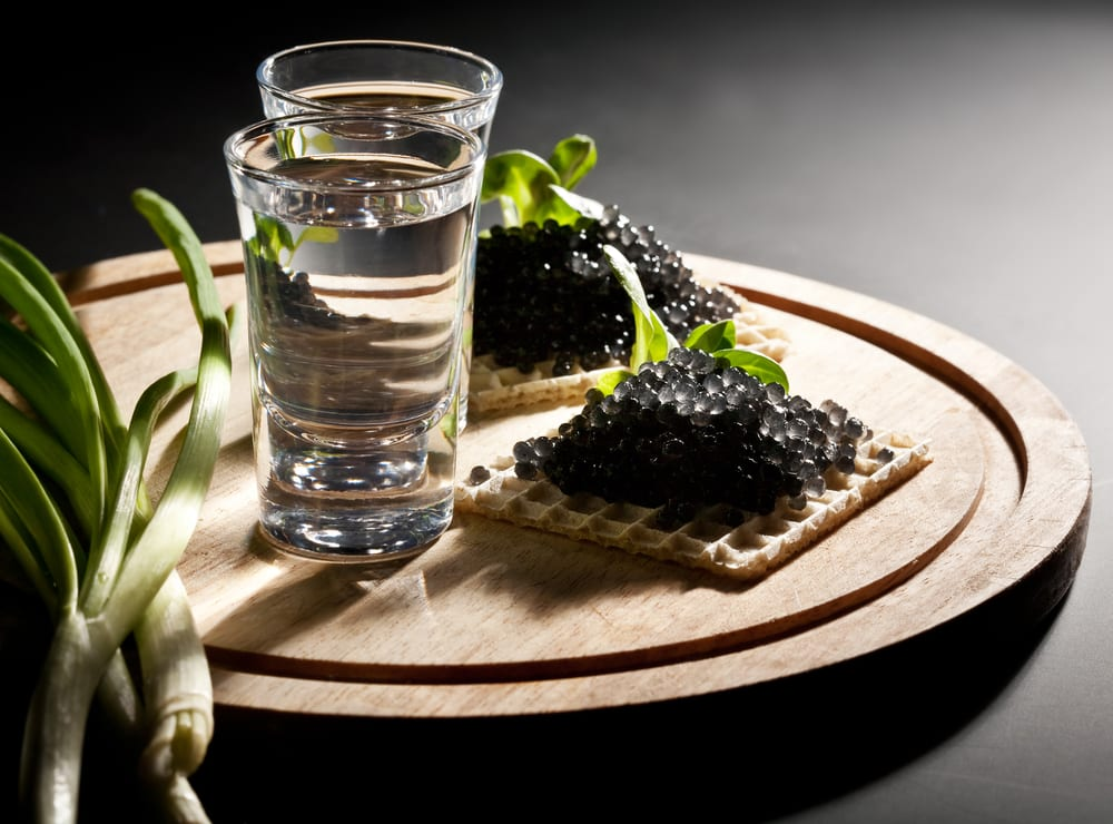 Vodka-and-Caviar-with-scallions1