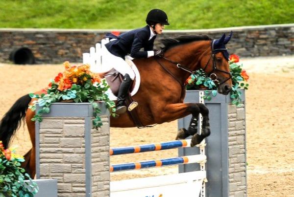 Jennifer ERemeeva, horse show, parenting