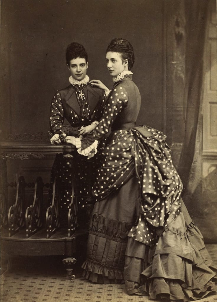 The Empress and her sister, The Princess of Wales