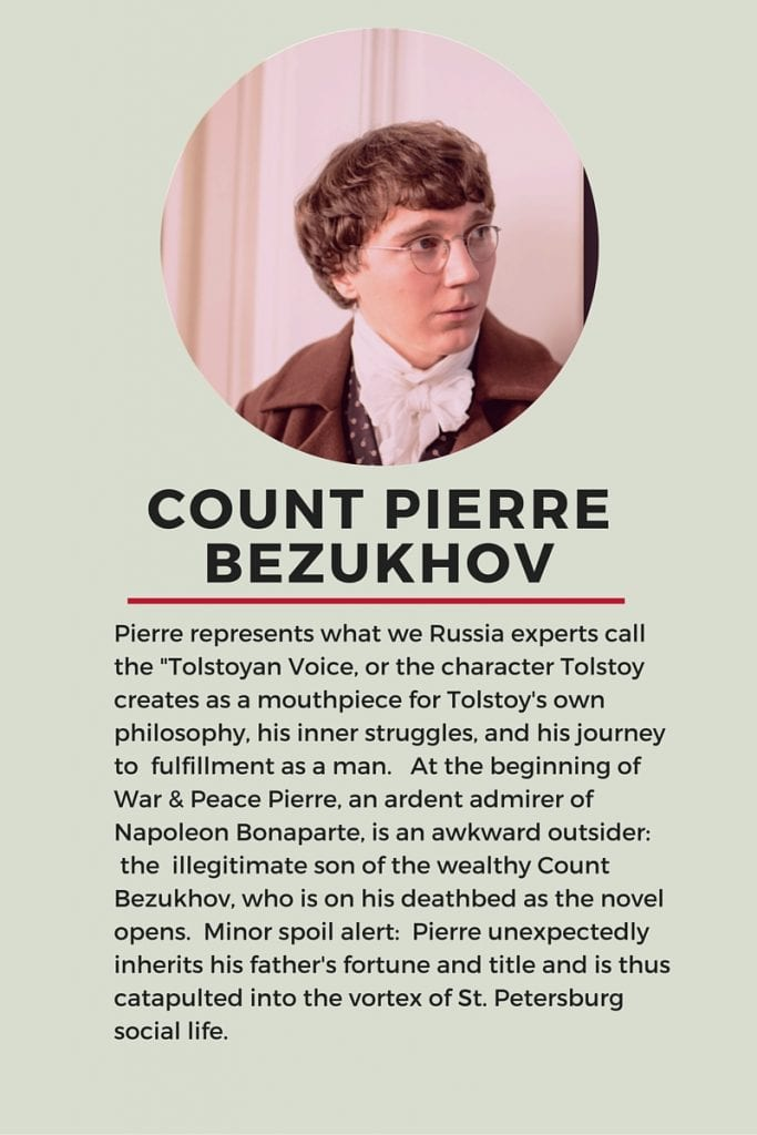 Who is Who in Tolstoy's War and Peace: Pierre Bezukhov
