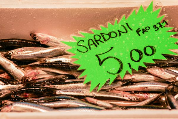 Fresh Sardines are the key to the signature Venetian dish: Sarde in saor - sweet and sour sardines