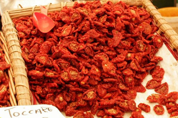 Italy's famous sun-dried tomatoes
