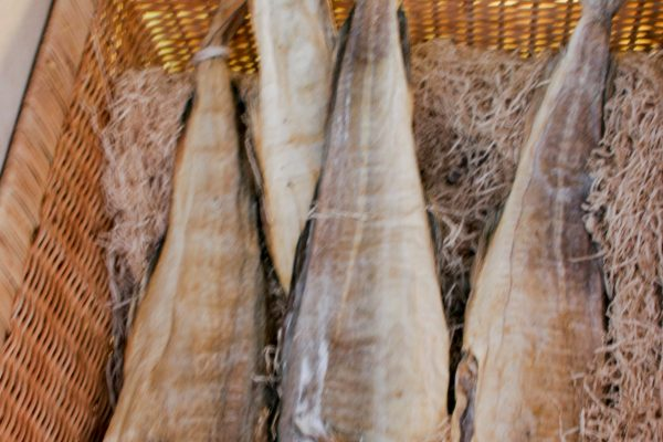salted cod is the key ingredient in Venice's signature dish: baccala