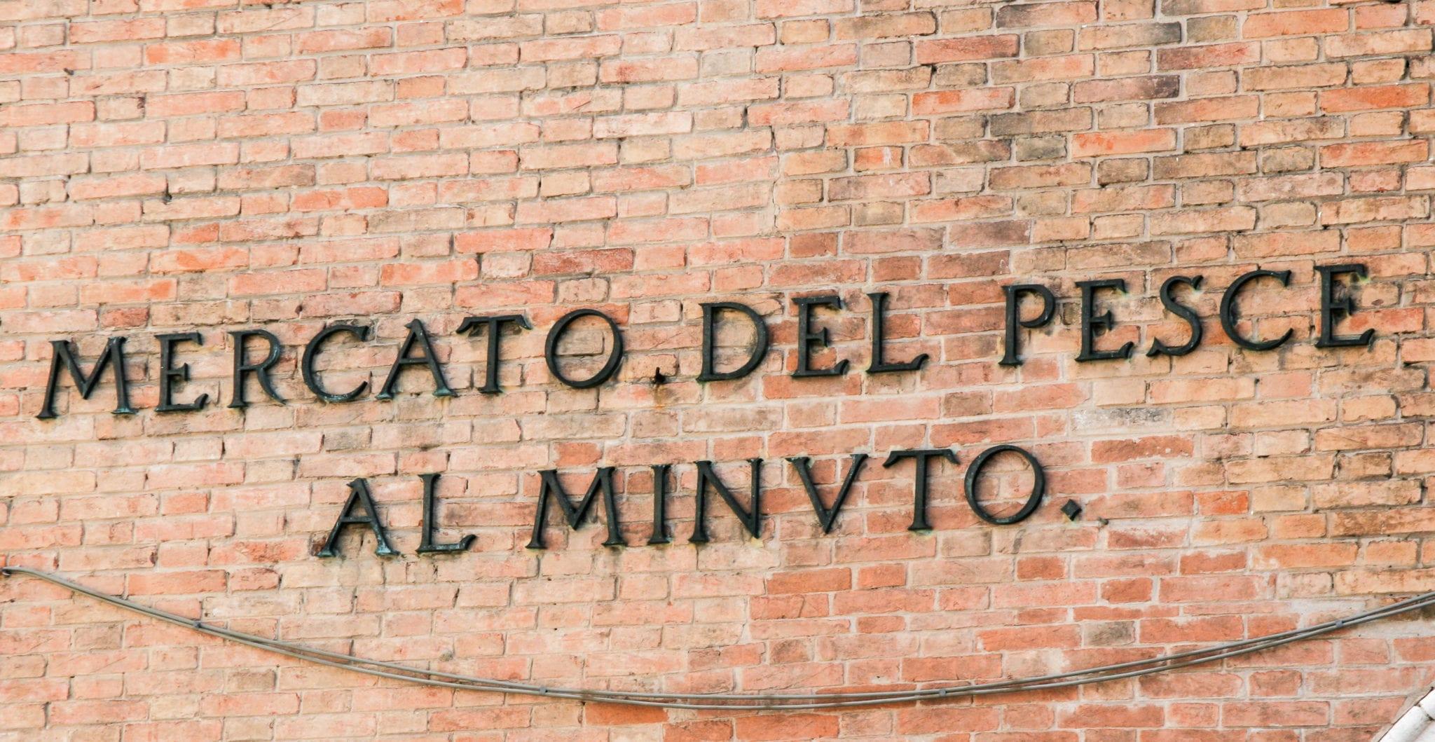 Venice, market, Mercato del pesce, Pescaria, veneto, cuisine of the veneto