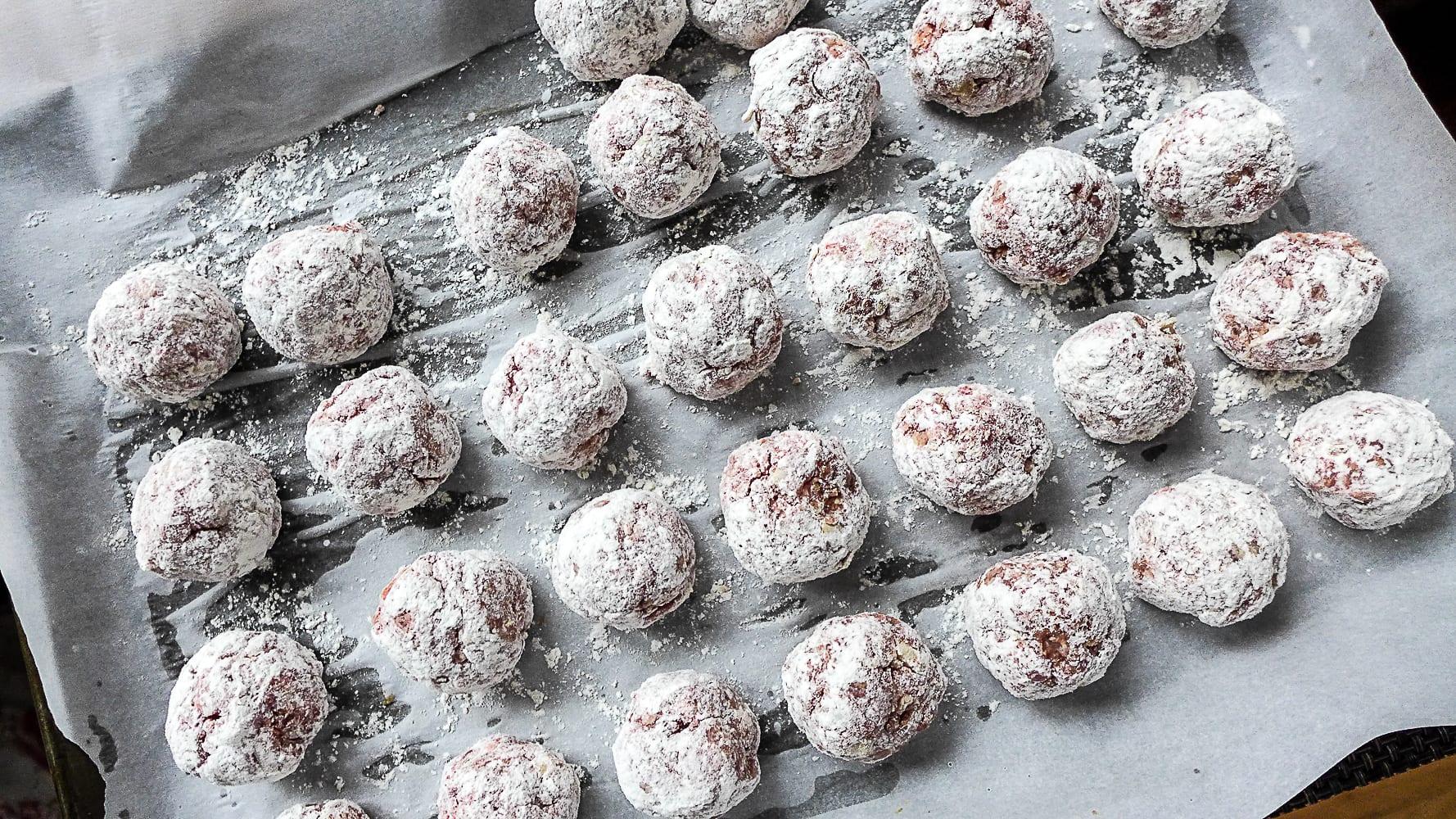 Meatballs, stroganoff, Beef Stroganoff, Russian, Meatballs