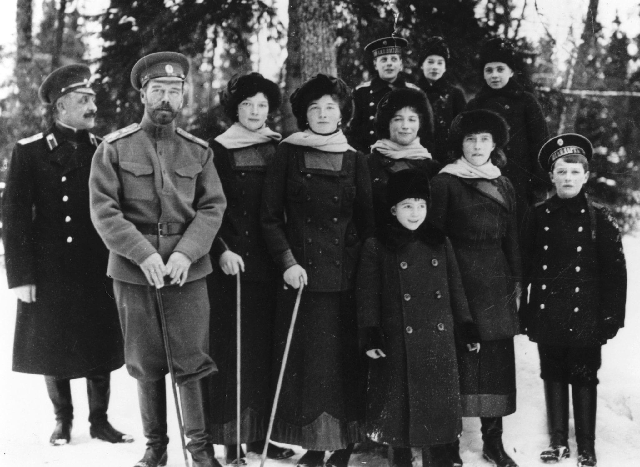Nicholas II romanovs Ekaterinburg Tsarskoye Selo