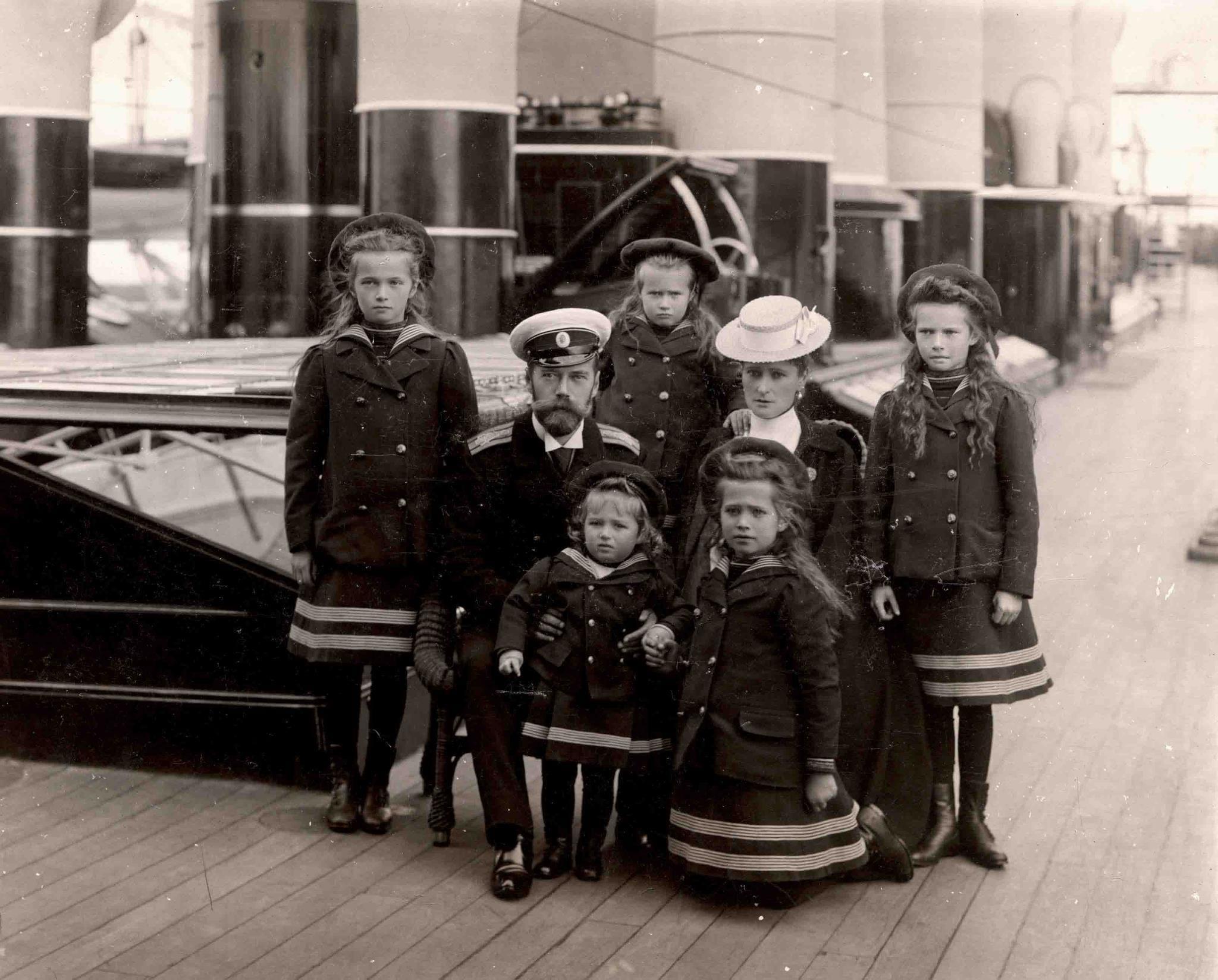 Nicholas II Romanovs Ekaterinburg Imperial Yacht