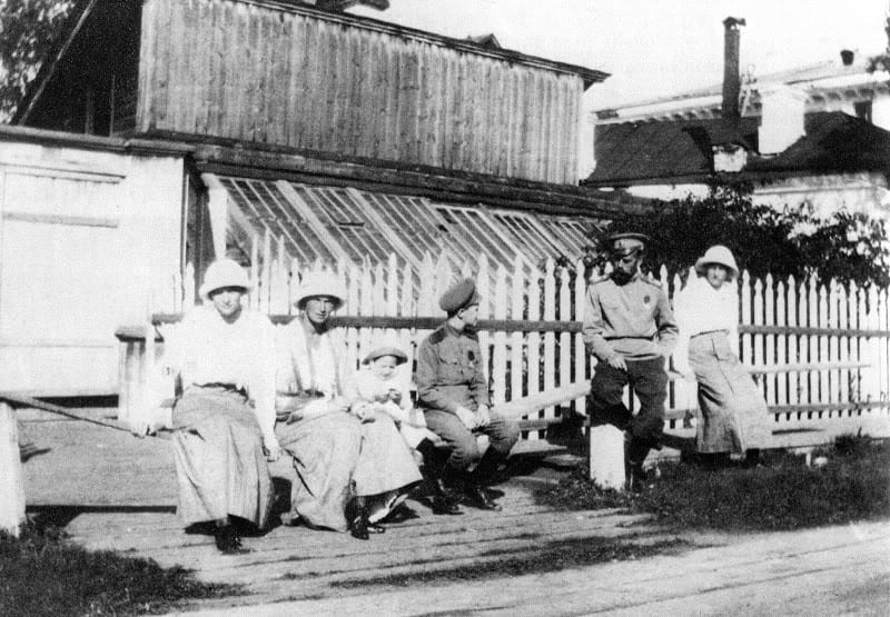 Nicholas II and his children in Tobolsk