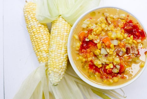 Food columnist Jennifer Eremeeva makes creamy corn chowder