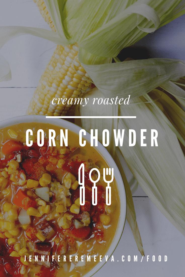 Food columnist Jennifer Eremeeva makes creamy corn chowder