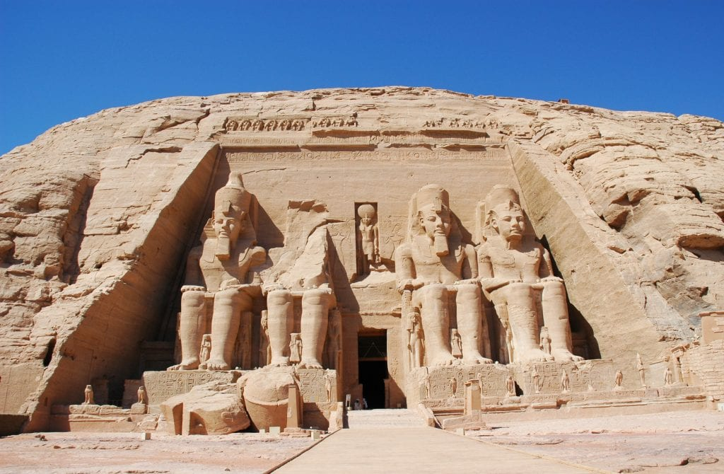 Travel blogger Jennifer Eremeeva visits Abu Simbel in its new location