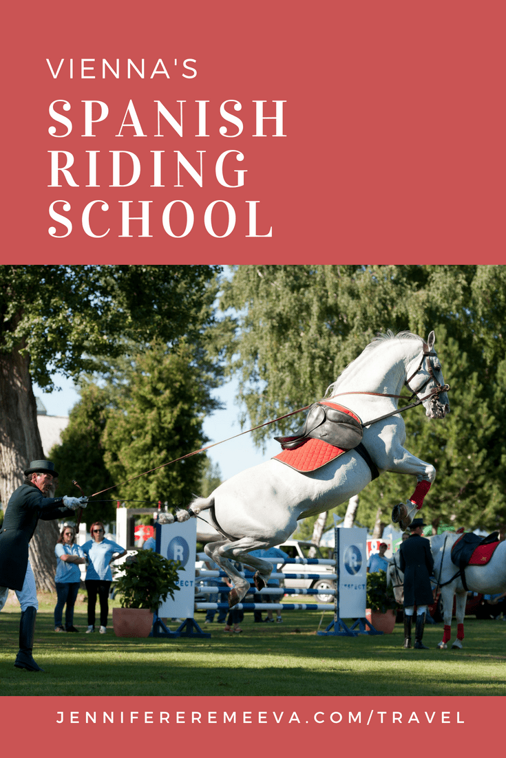 The Spanish Riding School: Vienna's Dancing Horses