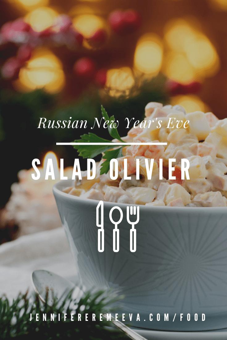 Food blogger Jennifer Eremeeva makes Russia's beloved New Year's Dish: Salad Olivier