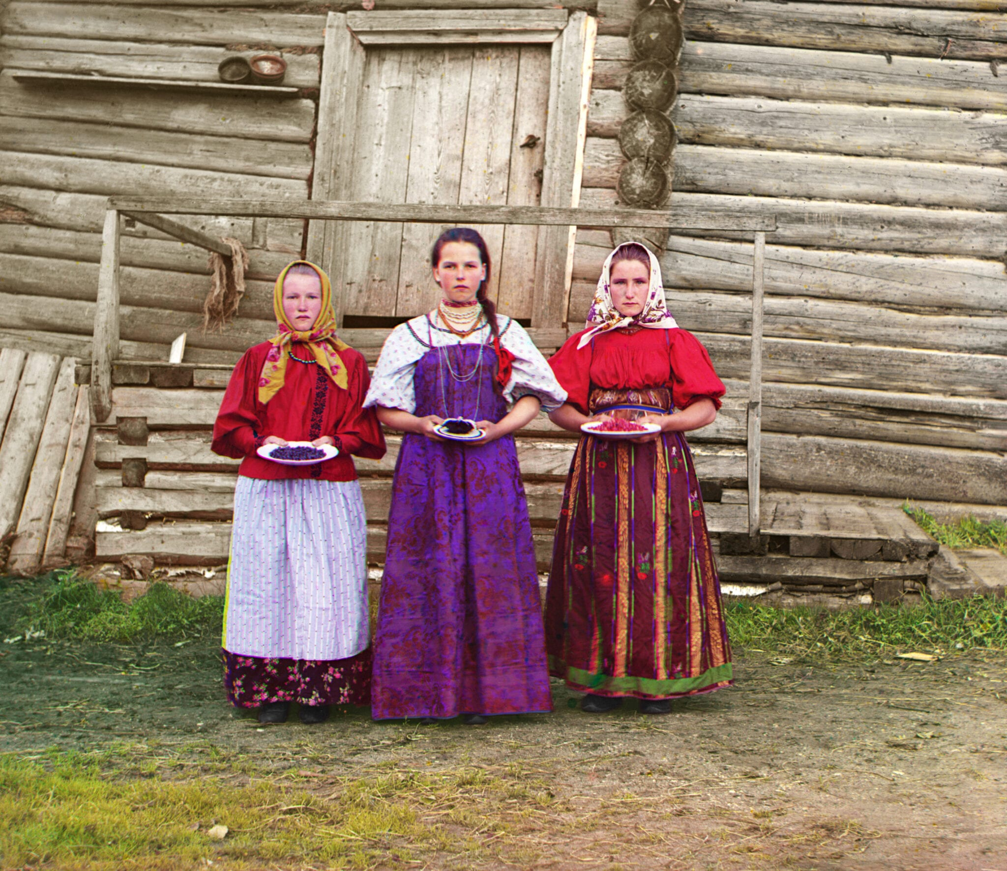Photographs by the Russian pioneer in color photography, Sergey Prokudin-Gorsky