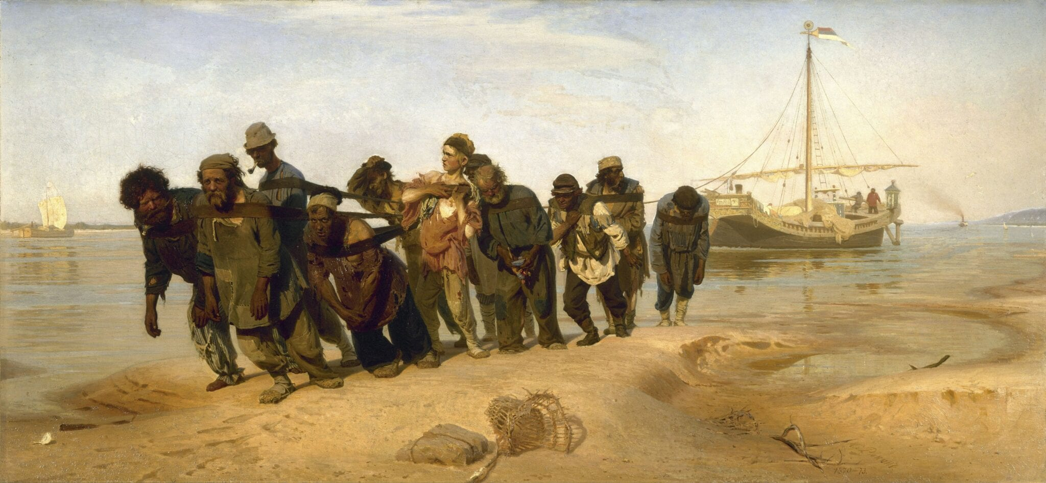 Reproduction of The Volga Boatmen