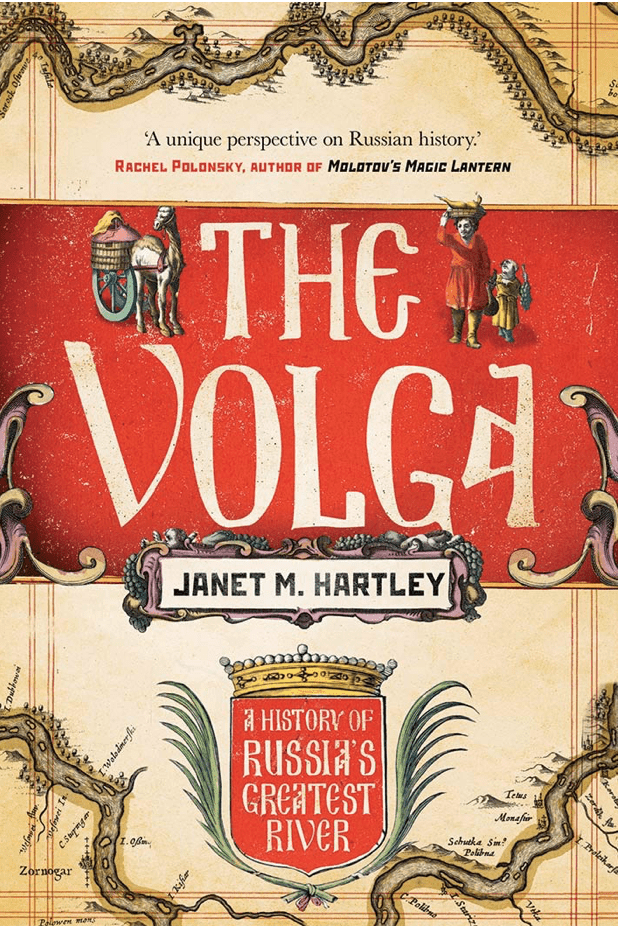 Cover of The Volga by J.M. Hartley