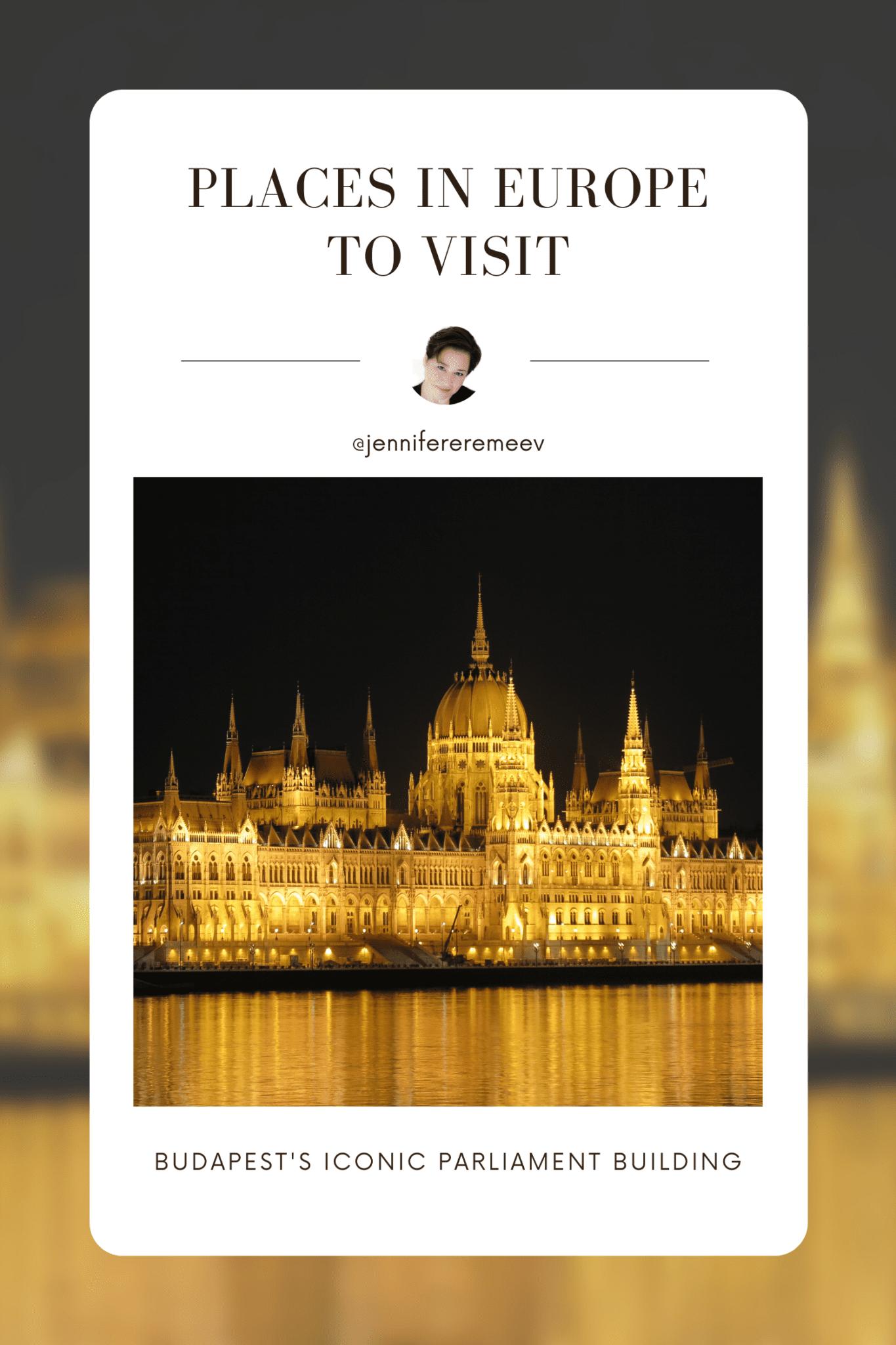 Budapest's Parliament Building
